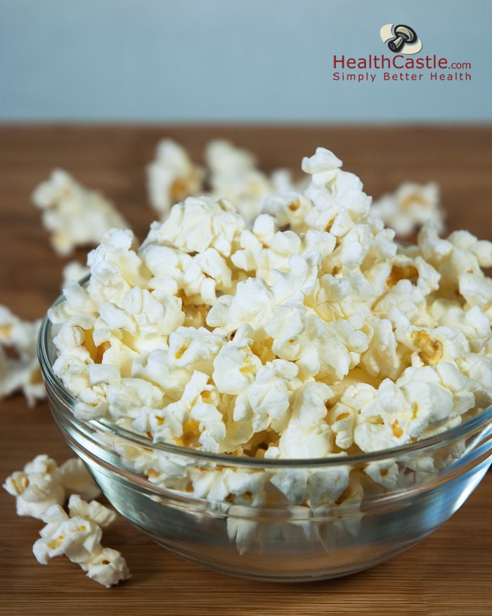 No More Bagged Microwave Popcorn