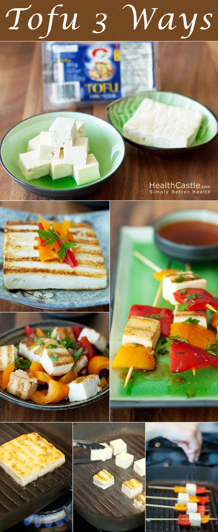 How to Cook Tofu 3 Ways