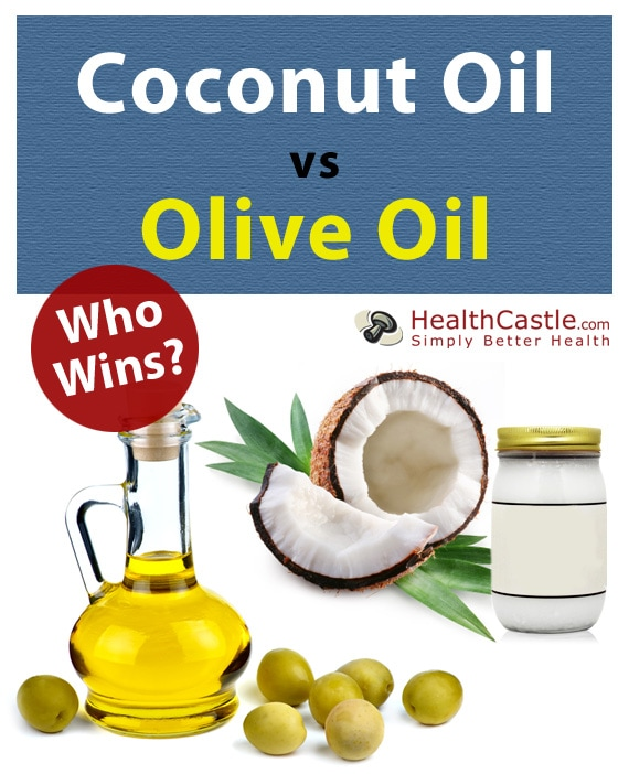 Coconut Oil versus Olive Oil. Who Wins?