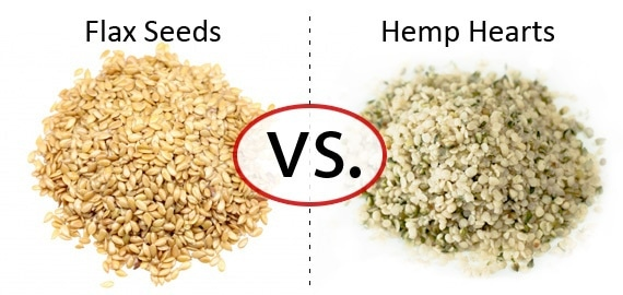 Nutrition Faceoff: Flax Seeds vs. Hemp Hearts