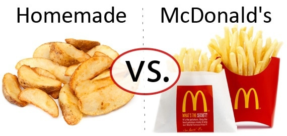 Nutrition Faceoff: Potato vs. McDonald's Fries