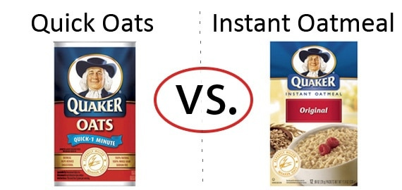 Nutrition Faceoff: Quaker Quick Oats vs. Instant