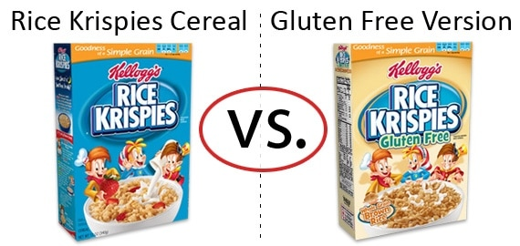 Nutrition Faceoff: Rice Krispies Cereal vs. Rice Krispies Gluten-Free Cereal