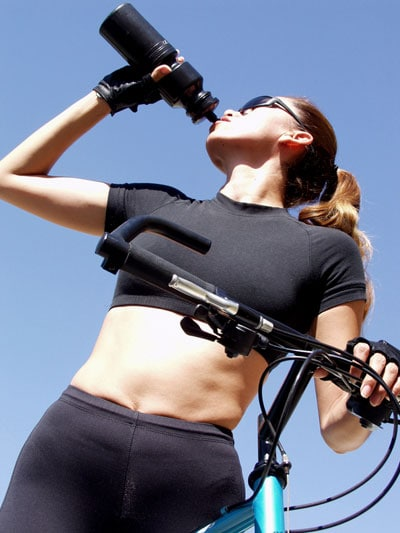 How Much Water to Drink During A Workout