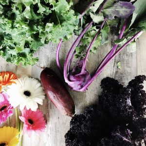 Should you purple kale and kohlrabi? Just leave them raw?