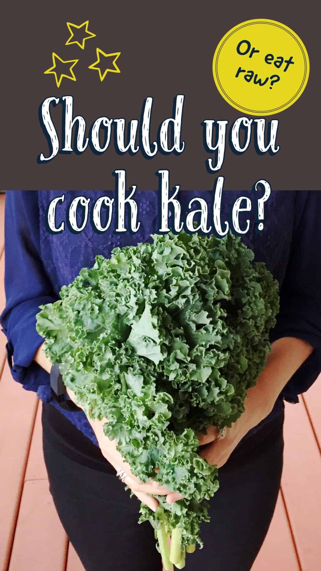 Should you cook kale and other cruciferous vegetables? It may surprise you.