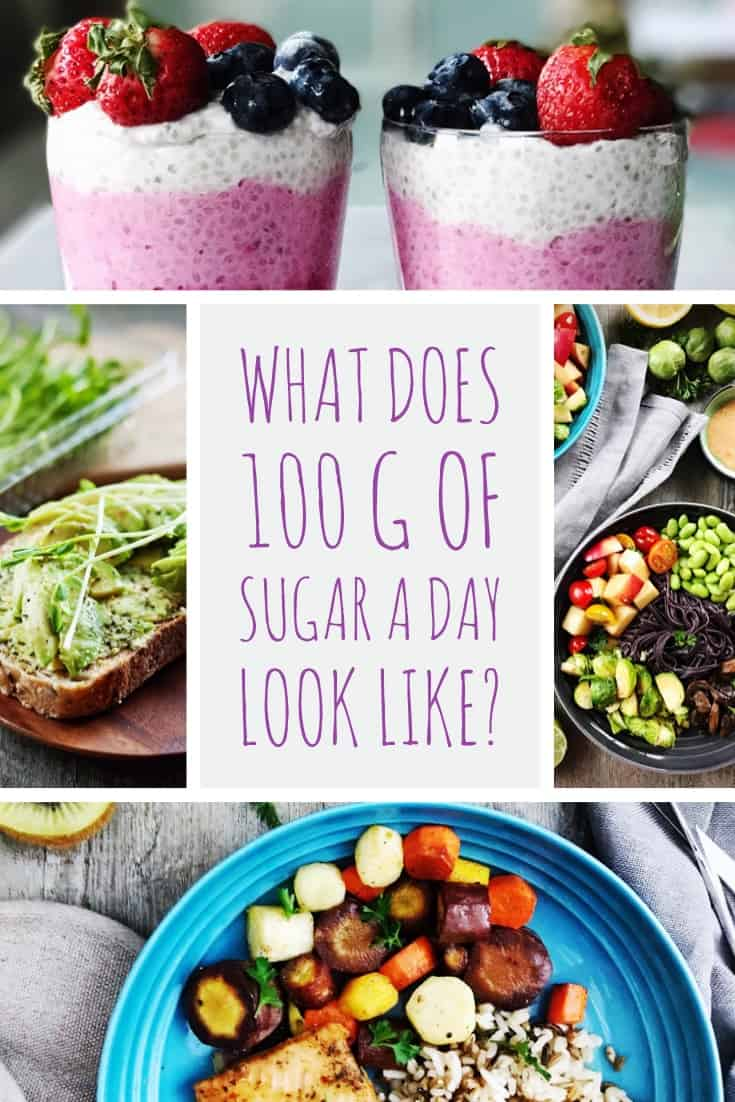 What does 100 grams of sugar a day look like? It's not what you think. With the new nutrition labelling rolling out, how do you navigate the new nutrition facts label and %DV? and how a 100g-sugar menu can still be healthy?